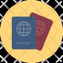 Passports Travel Id Icon