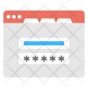 Password Protection Login Icon