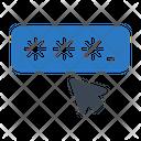 Password Login Cursor Icon