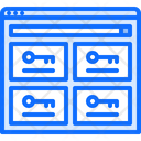 Password Manager Key Icon
