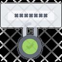 Password Lock Protection Icon