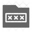 Password Folder Authorization Icon
