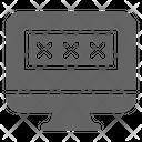 Password Computer Access Icon