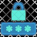 Password Pin Protection Icon