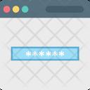 Password Passcode Digital System Icon