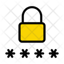 Password Lock Login Icon