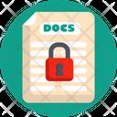 Development Document Password Icon