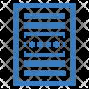 Password Paper Agreement Icon