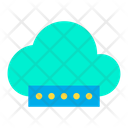 Cloud Network Password Icon