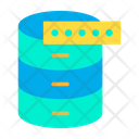 Database Database Password Database Security Icon