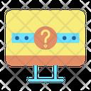 Question Mark Password Hint Password Icon