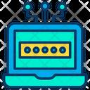 Password Laptop Icon