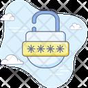 Banking Lock Pin Code Icon