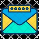 Data Mail Password Icon