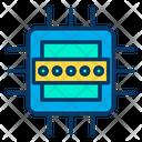 Password Microchip Processor Icon