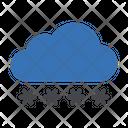 Cloud Password Security Icon