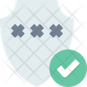 M Password Protection Icon