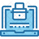 Laptop Security Safety Icon