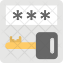 Password Security Key Icon