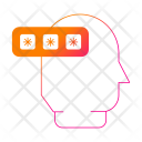 Password Thinking Security Icon
