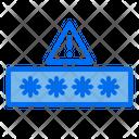 Password Protection Alert Icon