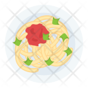 Noodles Dish Food Icon