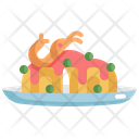 Pasta Seafood Food Icon