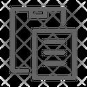 Paste Clipboard Duplicate Icon