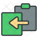 Paste Clipboard Document Icon