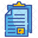 Paste Document File Icon