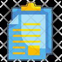 Paste Document File Icon