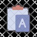 Paste Text Icon
