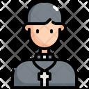Pastor Christian Catholic Icon