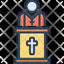 Pastor Father Churchman Icon
