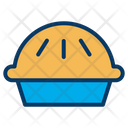 Pie Snacks Sweet Icon