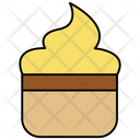 Ice Cream Tub Container Icon