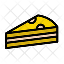Slice Pastry Sweets Icon