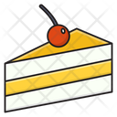 Pastry Slice Sweet Icon