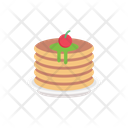 Pancake Bakery Sweets Icon