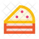 Pastry Cake Piece Icon