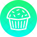 Pastry Cup Cake Icon