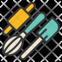 Pastry tools Icon