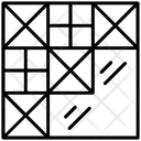 Patchwork Floorwork Tiling Icon