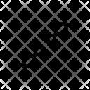 Path Line Vector Icon