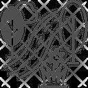 M Path Icon