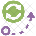 Path Direction Arrow Icon