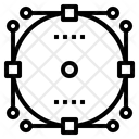 Path Line Frame Icon