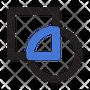 Pathfinder Intersect Shape Icon
