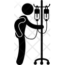 Patient Drip Ill Icon