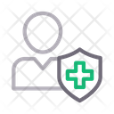 Patient Shield Protection Icon